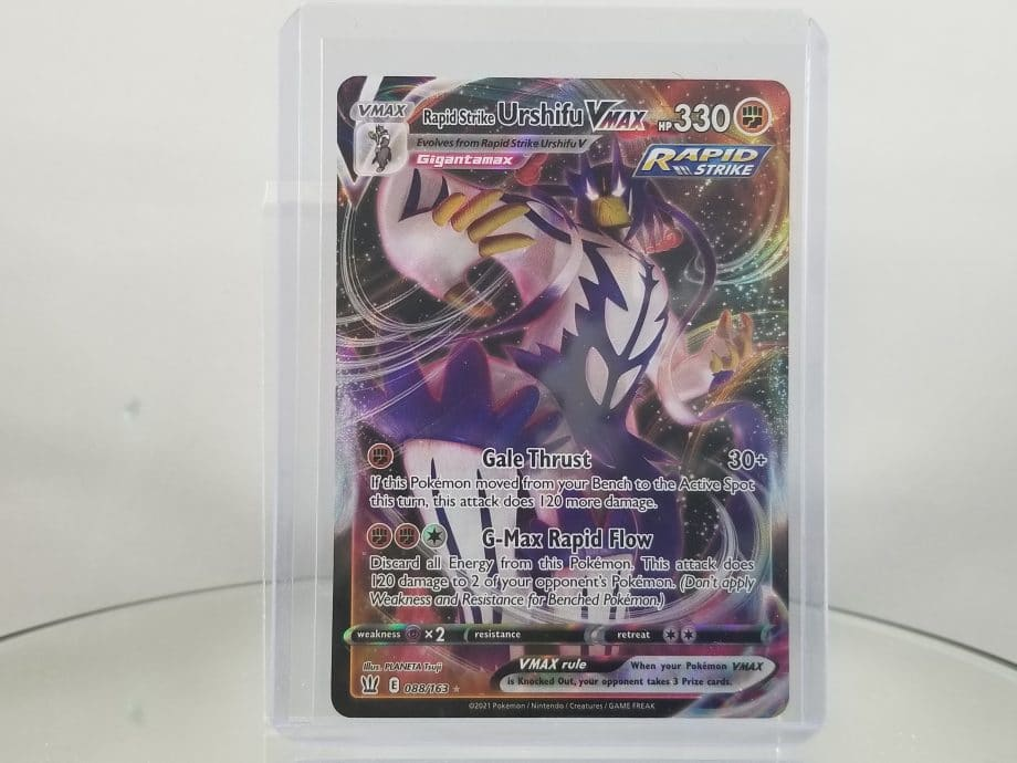 Sword & Shield Battle Styles 088/163 Ultra Rare Holo Rapid Strike Urshifu VMAX Front