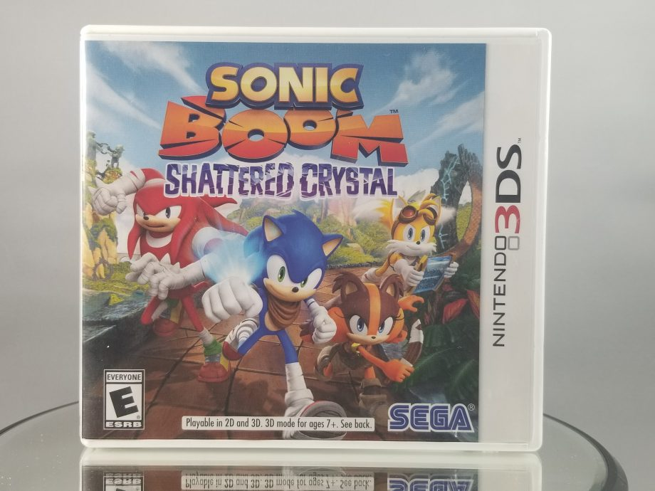 Sonic Boom Shattered Crystal Front