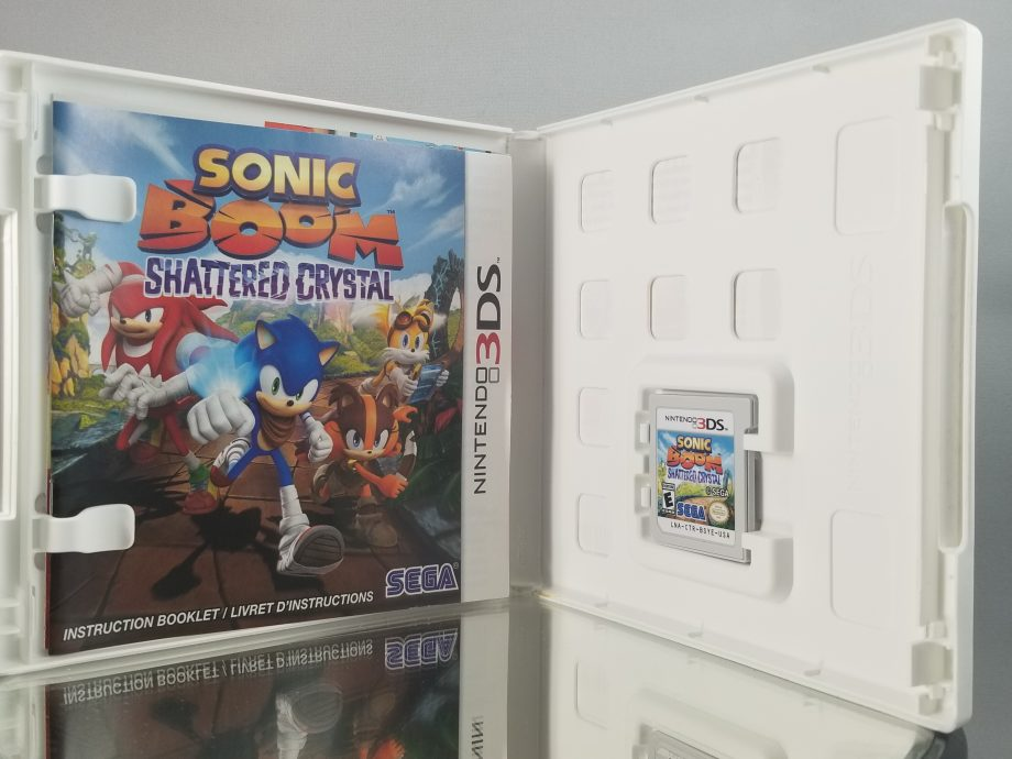 Sonic Boom Shattered Crystal Disc