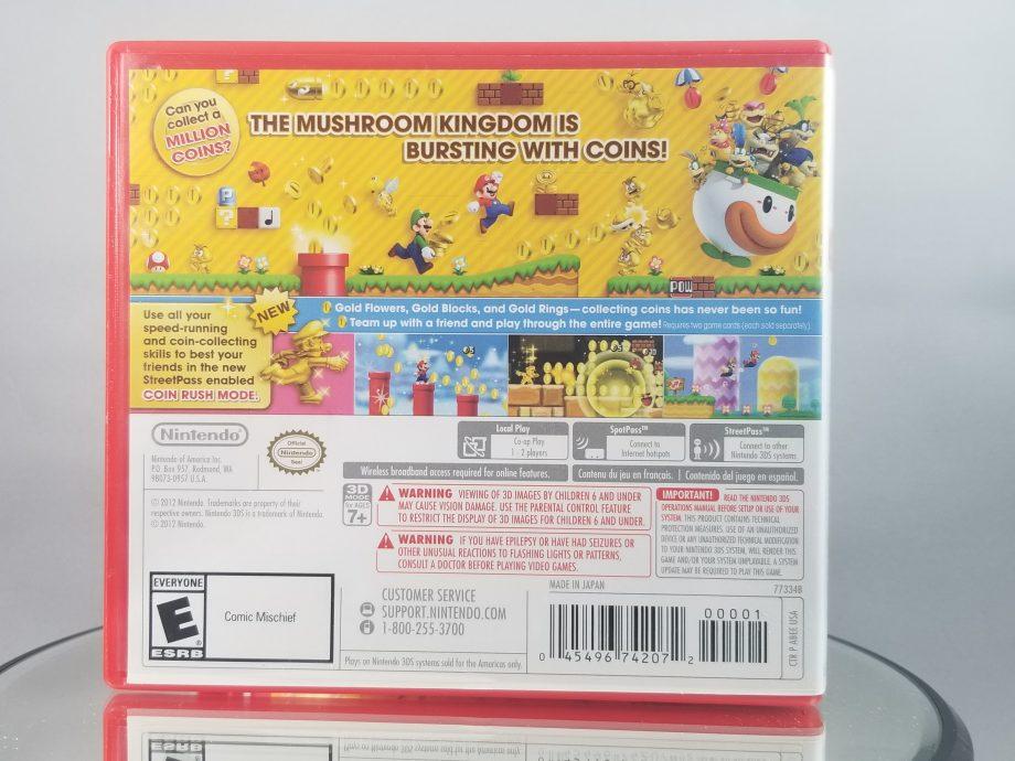 New Super Mario Bros. 2 Back