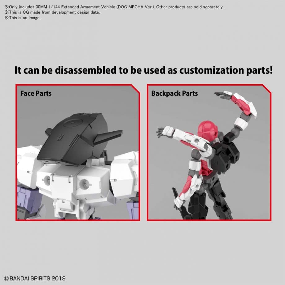 Extended Armament Vehicle Dog Mecha Ver Pose 6