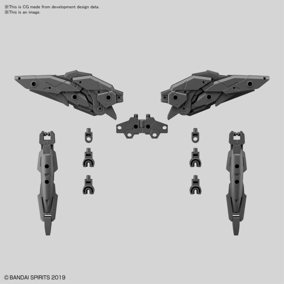 Option Armor Set 5 Multi Wing/Multi Booster Pose 1