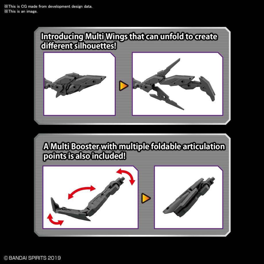 Option Armor Set 5 Multi Wing/Multi Booster Pose 4