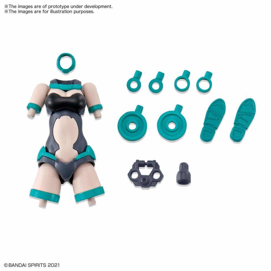 Option Body Parts Type A01 Color B Pose 1