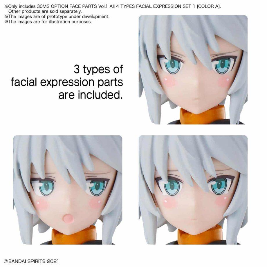 30 Minutes Sisters Option Face Parts Volume 1 Set 1