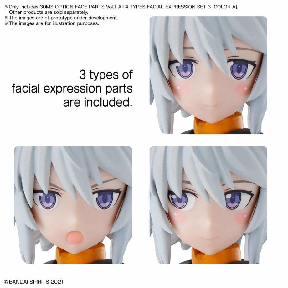 30 Minutes Sisters Option Face Parts Volume 1 Set 3