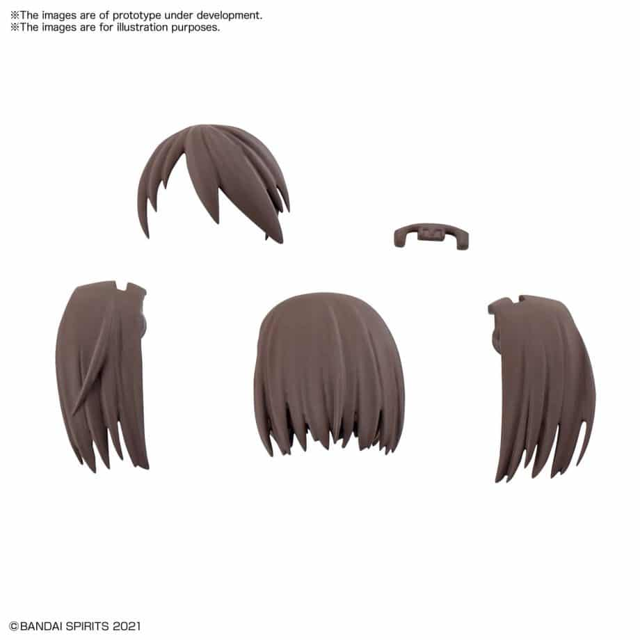30 Minutes Sisters Option Hair Style Parts Volume 2 Set 1 Brown 2