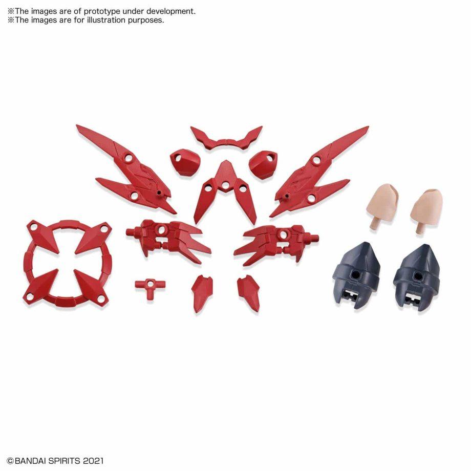 Option Parts Set 2 Flight Armor Pose 1