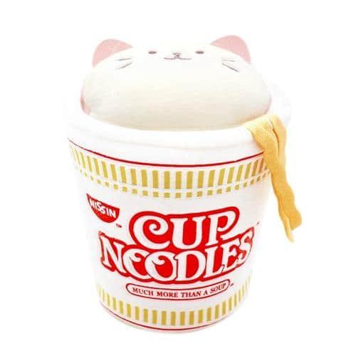 AniRollz Cup of Noodles Kittiroll Small Plush