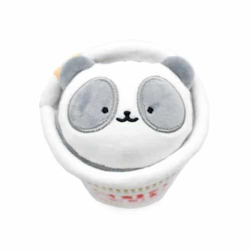 Cup Noodles Pandaroll Plush Keychain