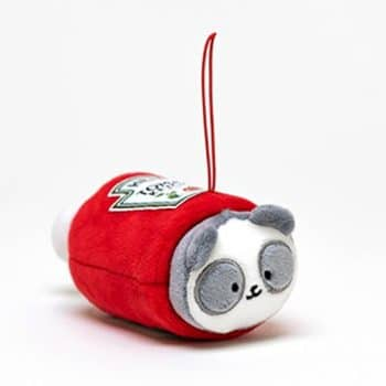AniRollz Heinz Pandaroll Plush Keychain