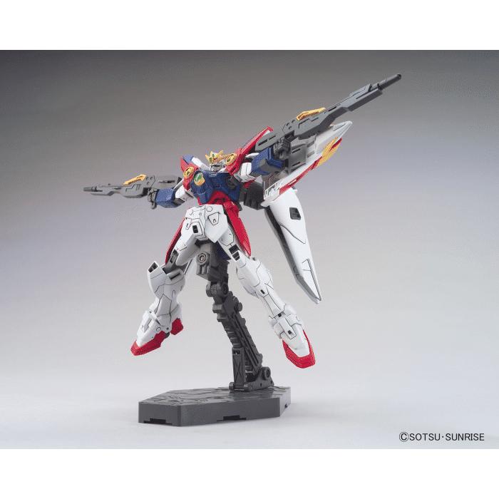 1/144 High Grade Wing Gundam Zero Pose 2