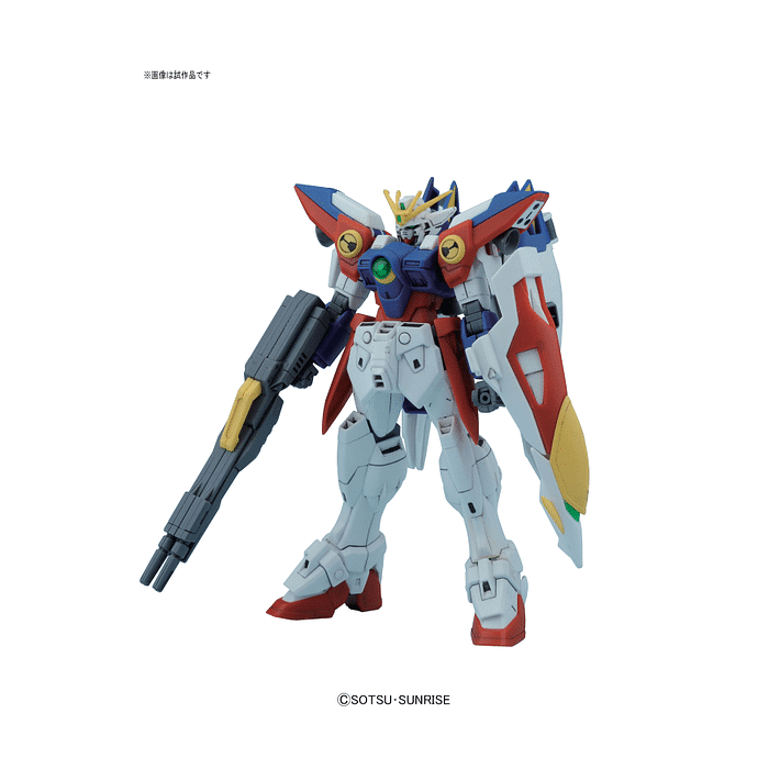 1/144 High Grade Wing Gundam Zero Pose 1