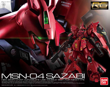Real Grade Sazabi Box