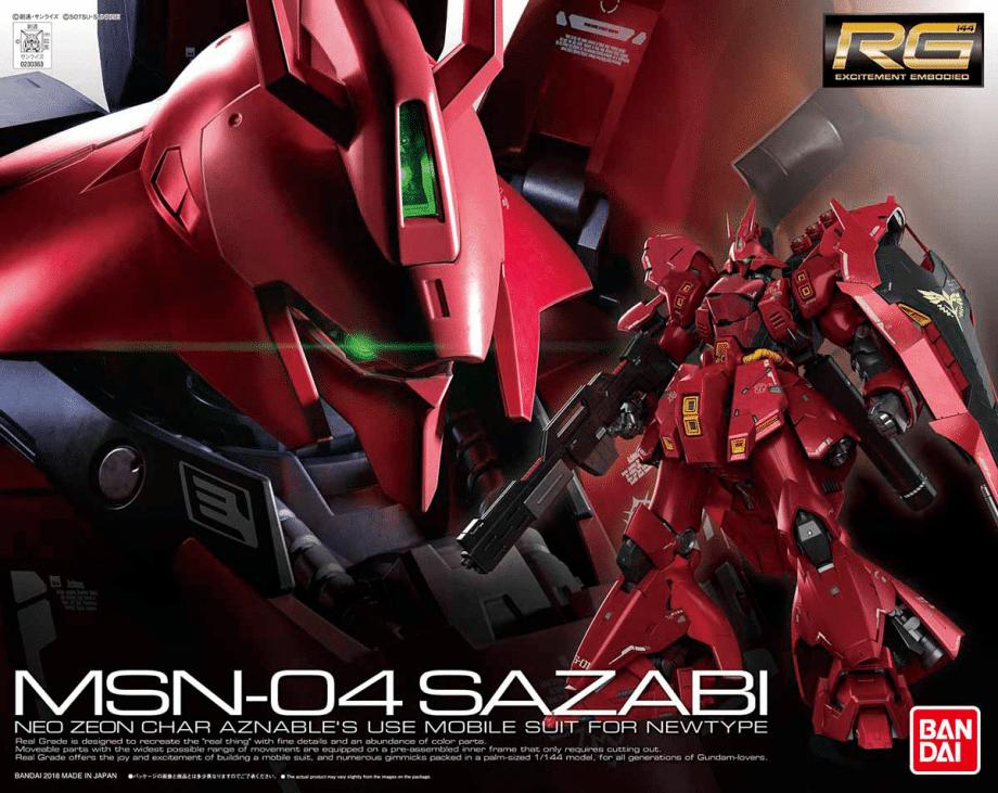 Real Grade Sazabi Box