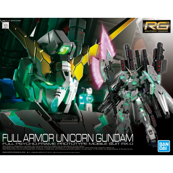 Real Grade Full Armor Unicorn Gundam Box