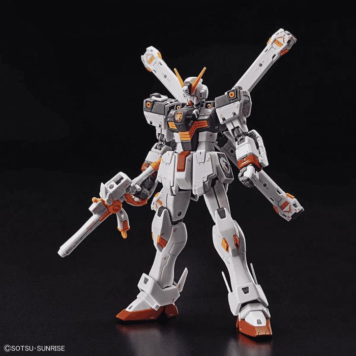 Real Grade Crossbone Gundam X1 Pose 1
