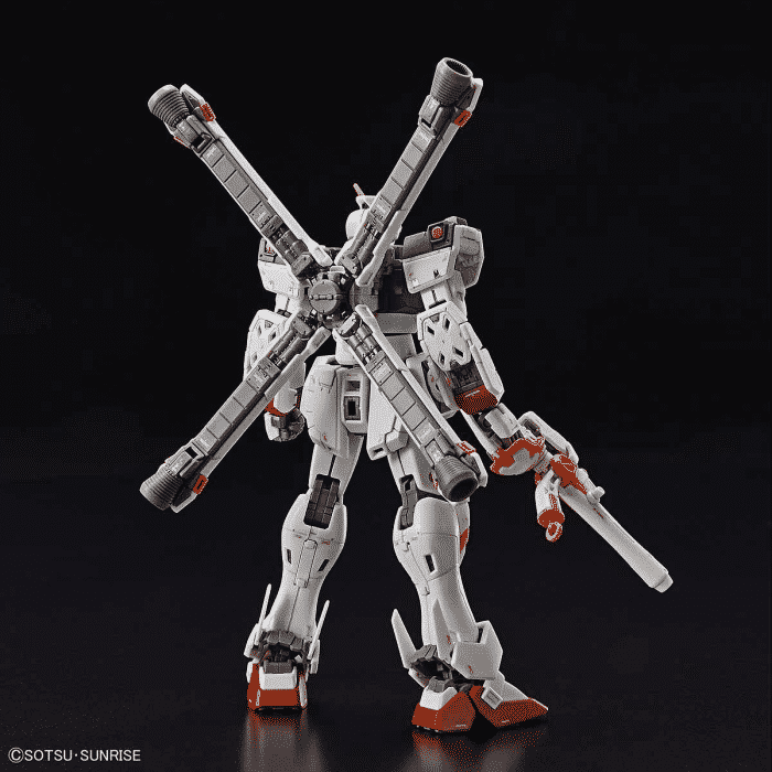 Real Grade Crossbone Gundam X1 Pose 3