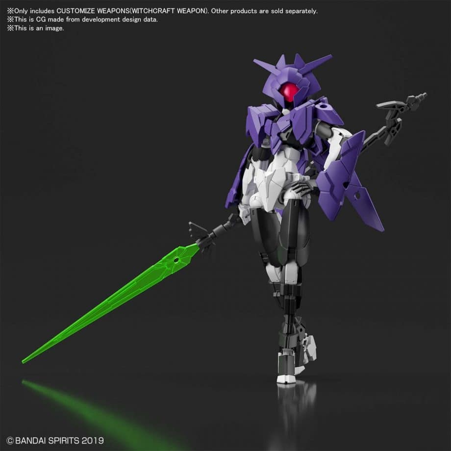 Customize Weapons Witchcraft Weapon Pose 4