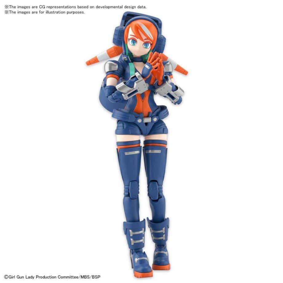 Girl Gun Lady Lady Commander Amatsu