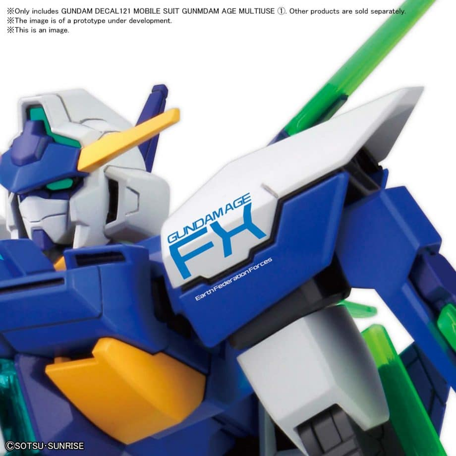 1/144 Gundam Age Multiuse 1 No. 121 Pose 2