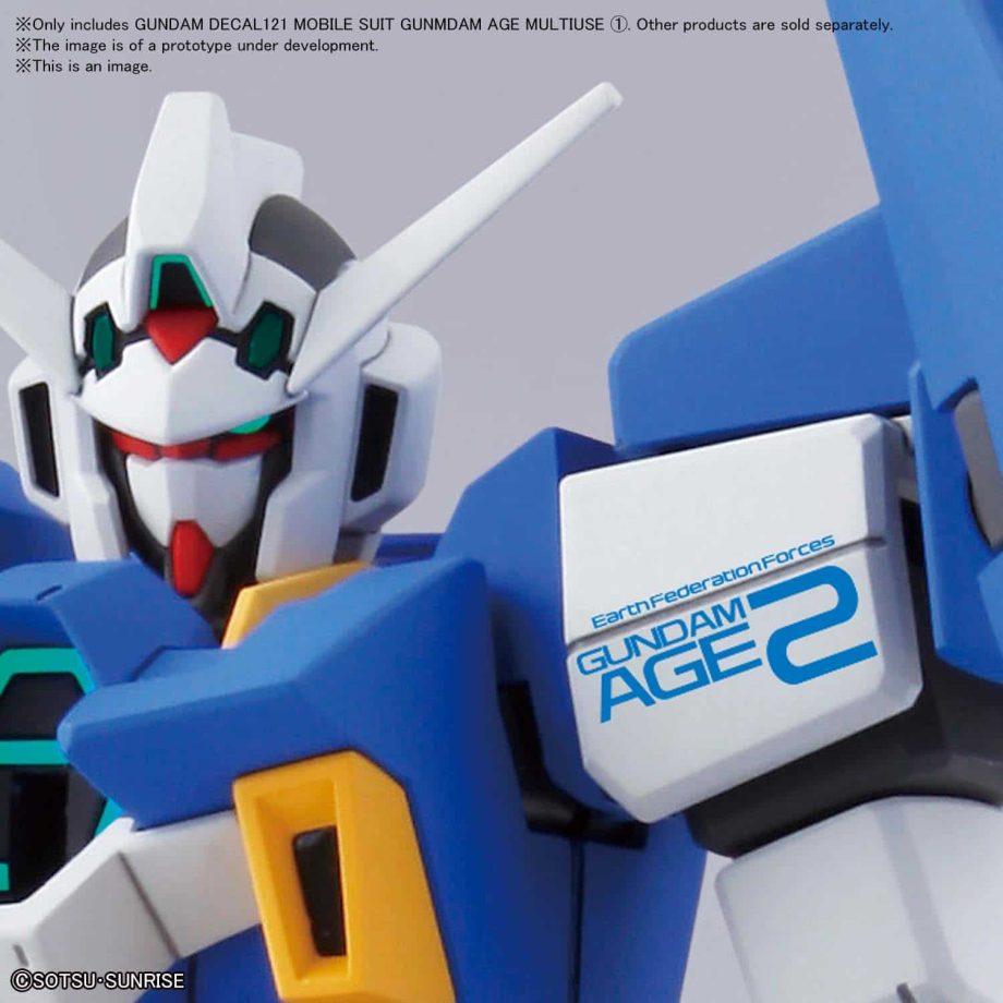 1/144 Gundam Age Multiuse 1 No. 121 Pose 4