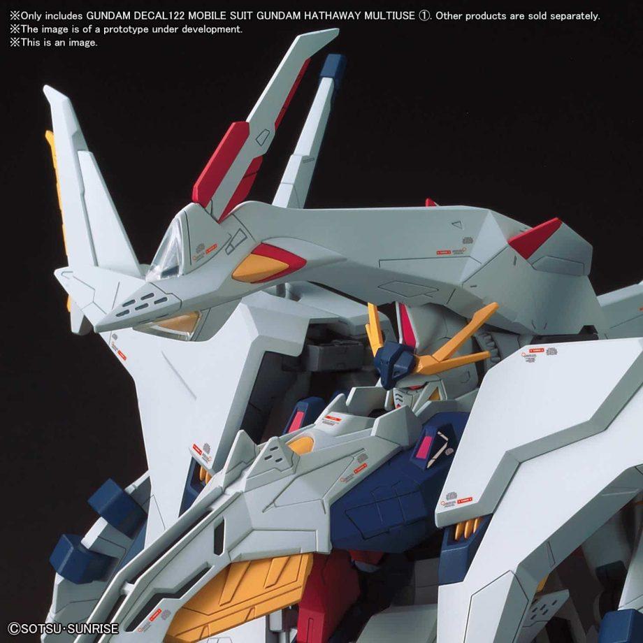 Gundam Hathaway Multiuse 1 No. 122 Pose 3