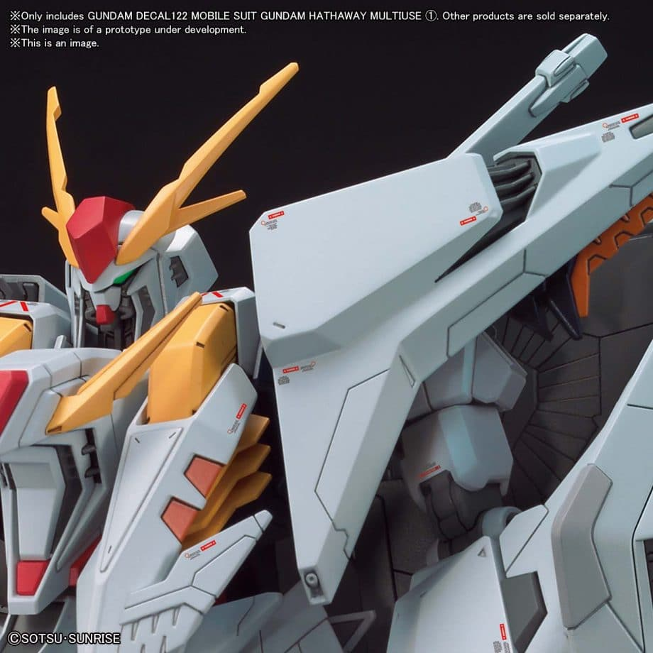 Gundam Hathaway Multiuse 1 No. 122 Pose 2