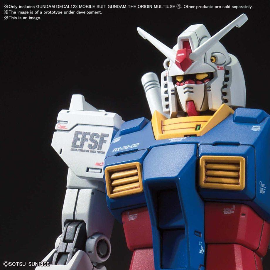 Gundam The Origin Multiuse 4 No. 123 Pose 2