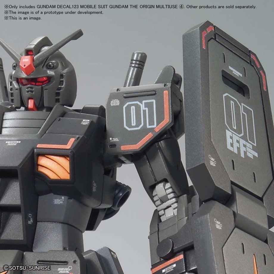 Gundam The Origin Multiuse 4 No. 123 Pose 3