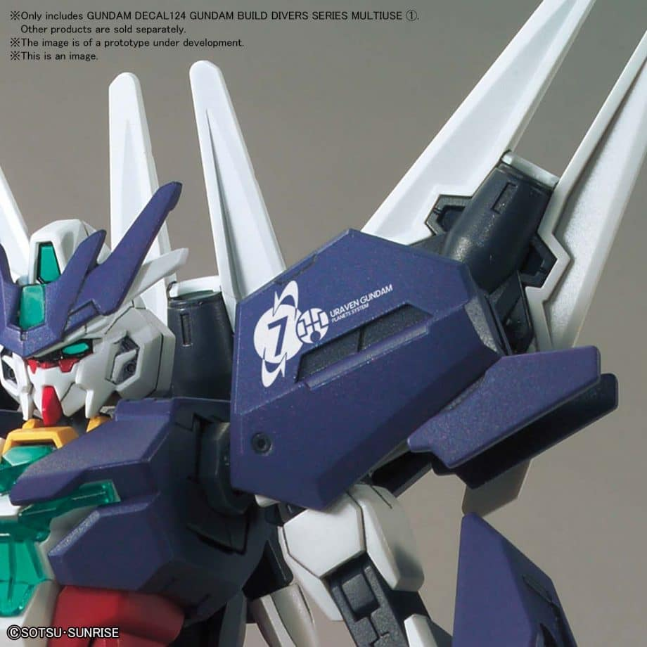 1/144 Gundam Build Divers Multiuse 1 No. 124 Pose 2