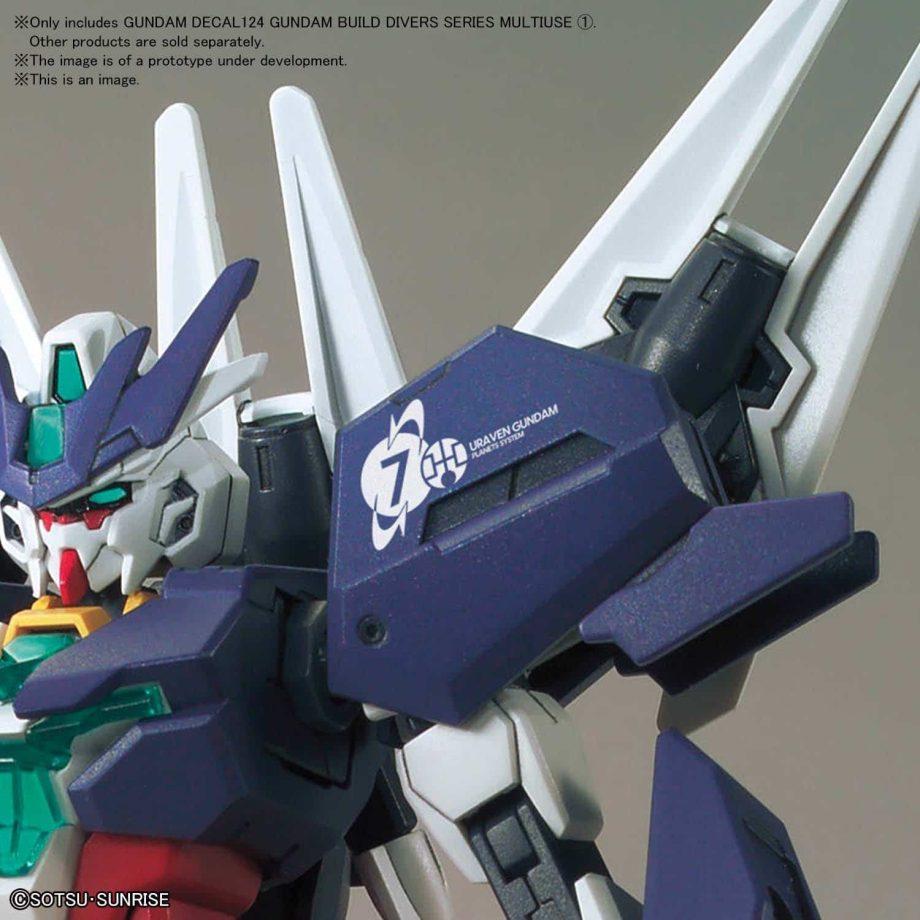 1/144 Gundam Build Divers Multiuse 1 No. 124 Pose 2