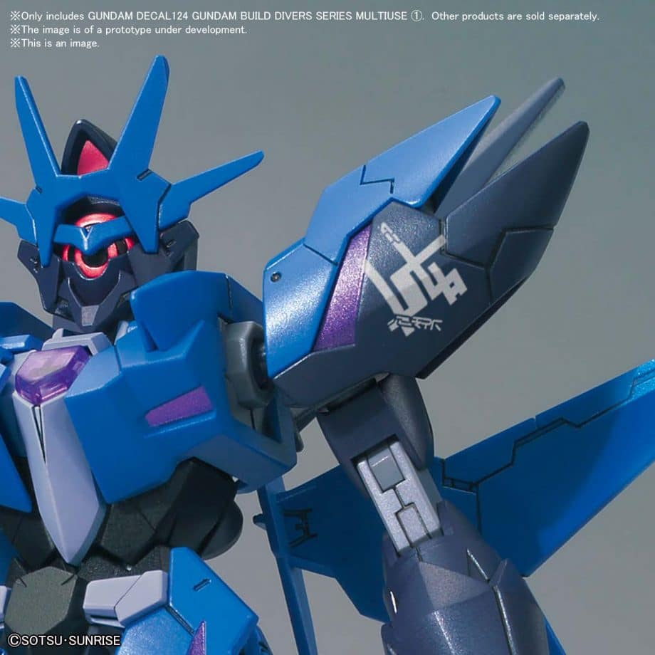 1/144 Gundam Build Divers Multiuse 1 No. 124 Pose 4