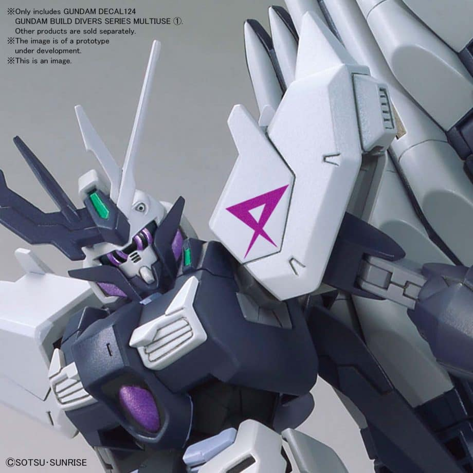 1/144 Gundam Build Divers Multiuse 1 No. 124 Pose 5