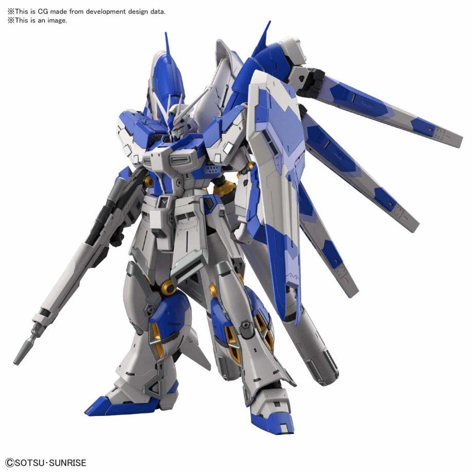 1/144 Real Grade Hi-Nu Gundam Pose 2