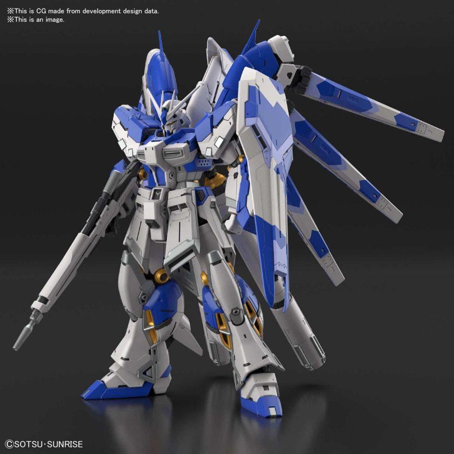 1/144 Real Grade Hi-Nu Gundam Pose 3