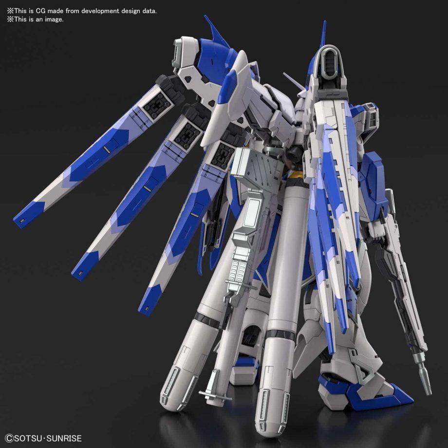 1/144 Real Grade Hi-Nu Gundam Pose 4