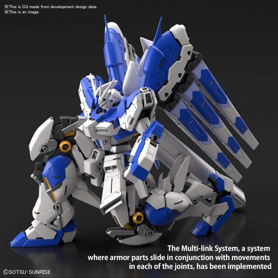 1/144 Real Grade Hi-Nu Gundam Pose 5