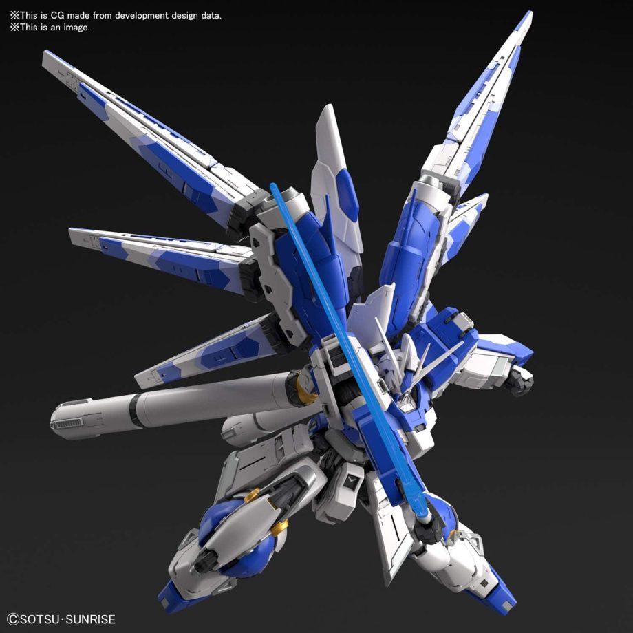 1/144 Real Grade Hi-Nu Gundam Pose 6