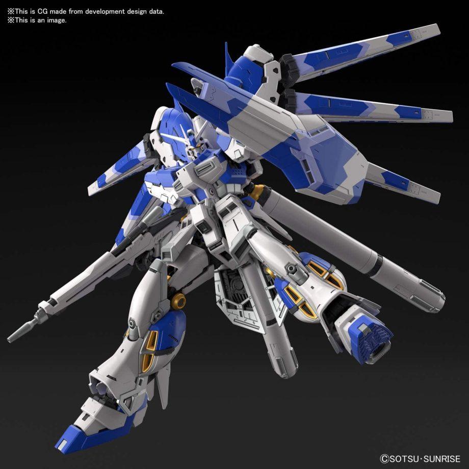 1/144 Real Grade Hi-Nu Gundam Pose 7