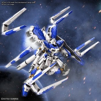 1/144 Real Grade Hi-Nu Gundam Pose 1