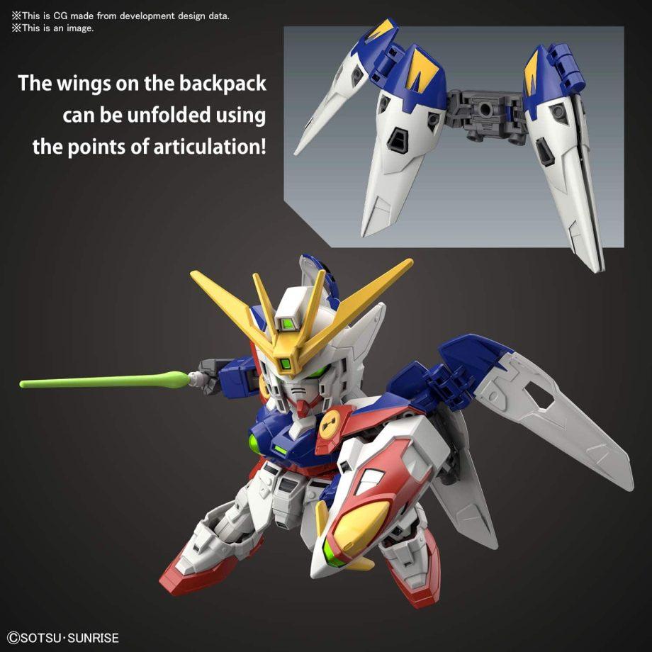 SDEx Standard Wing Gundam Zero Pose 5