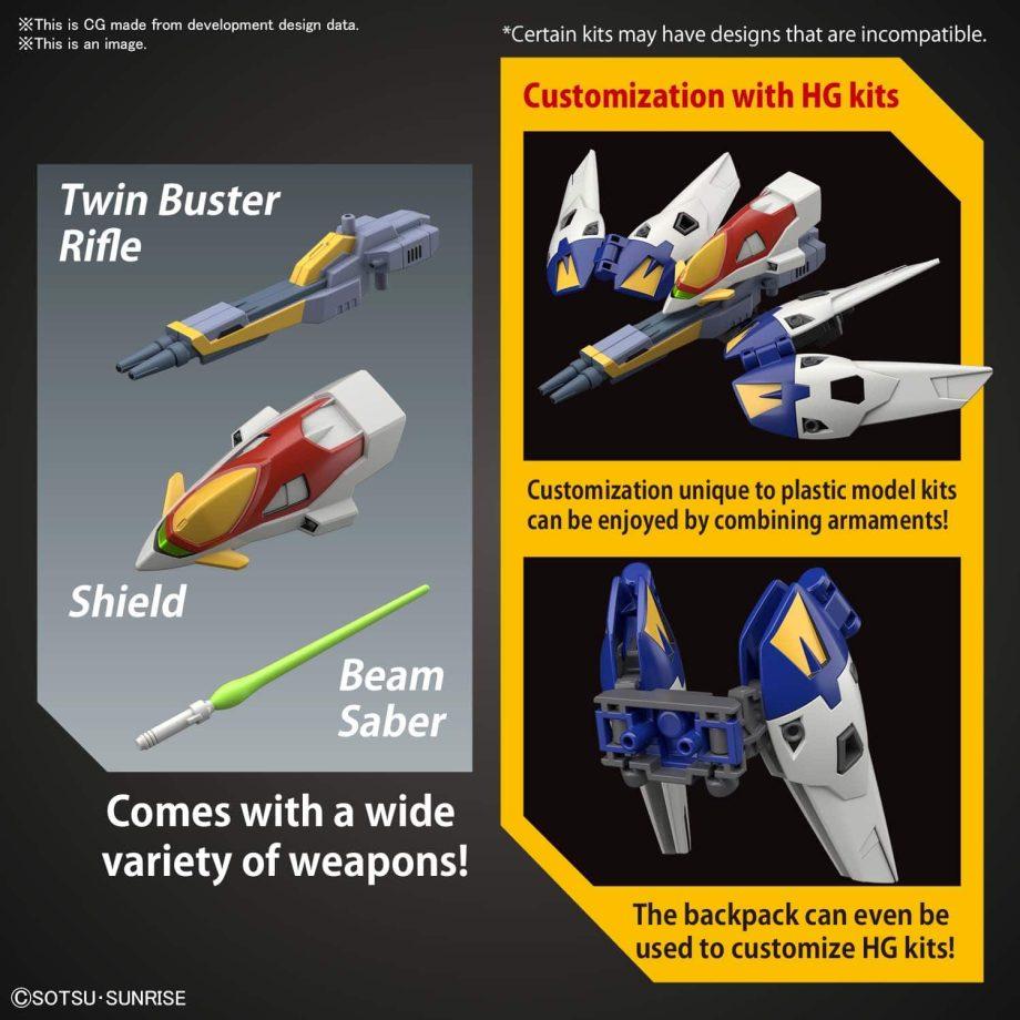 SDEx Standard Wing Gundam Zero Pose 6