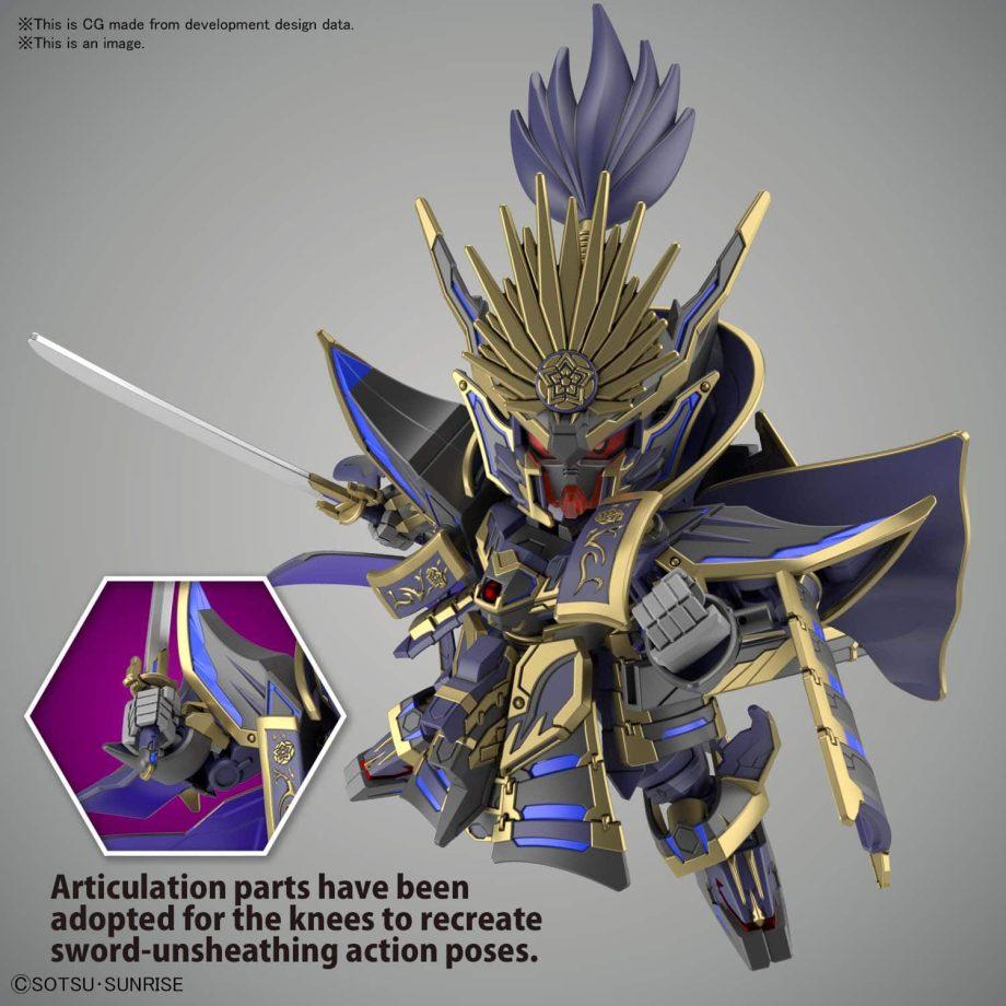 Nobunaga Gundam Epyon Dark Mask Ver. Pose 4