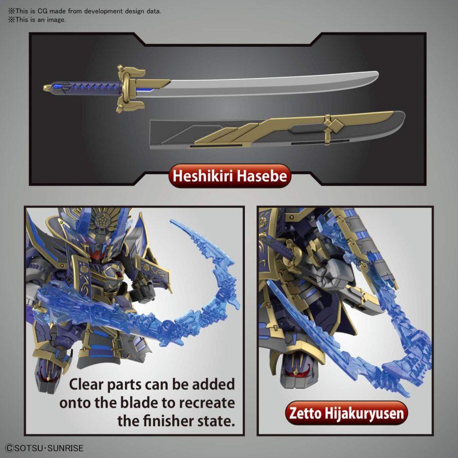 Nobunaga Gundam Epyon Dark Mask Ver. Pose 5