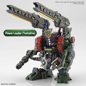 Sergeant Verde Buster Gundam DX Set Pose 1