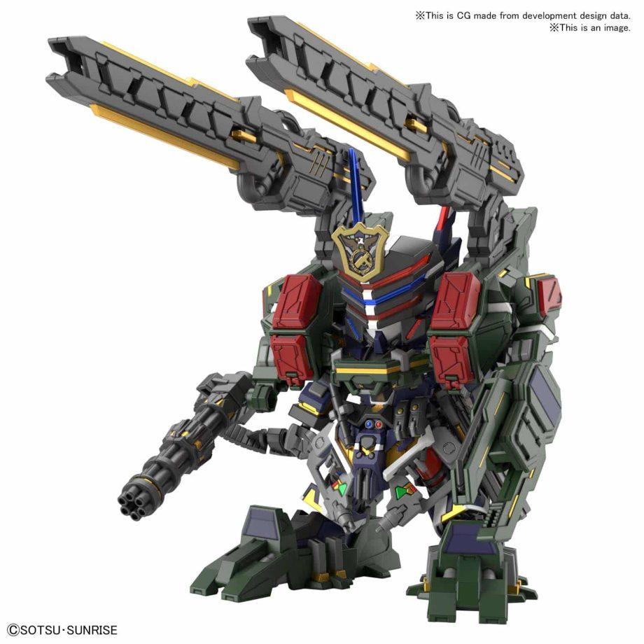 Sergeant Verde Buster Gundam DX Set Pose 2