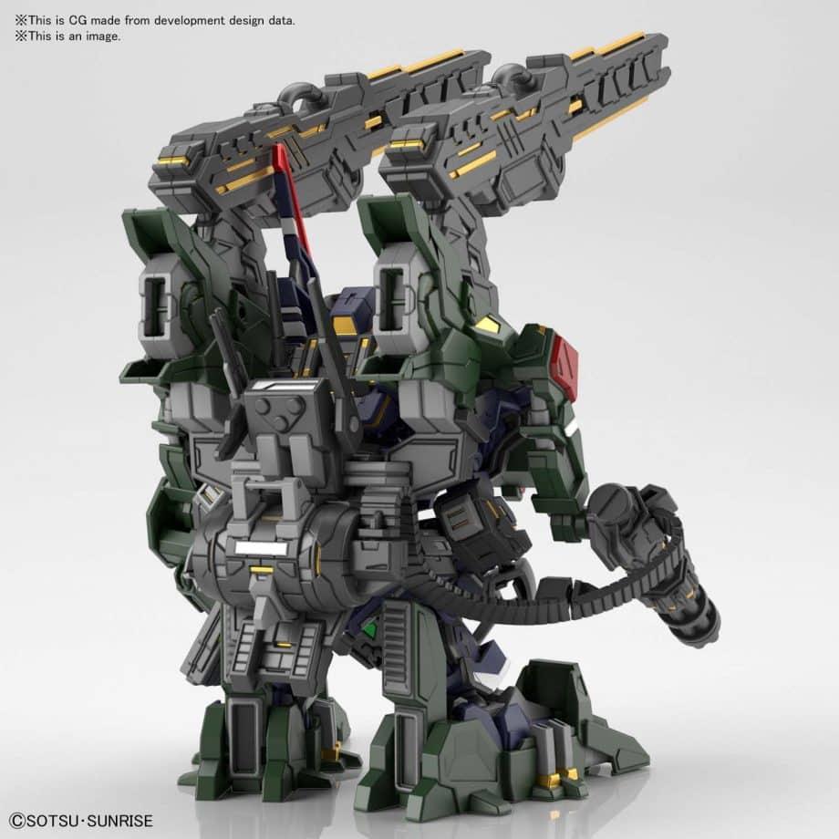 Sergeant Verde Buster Gundam DX Set Pose 3