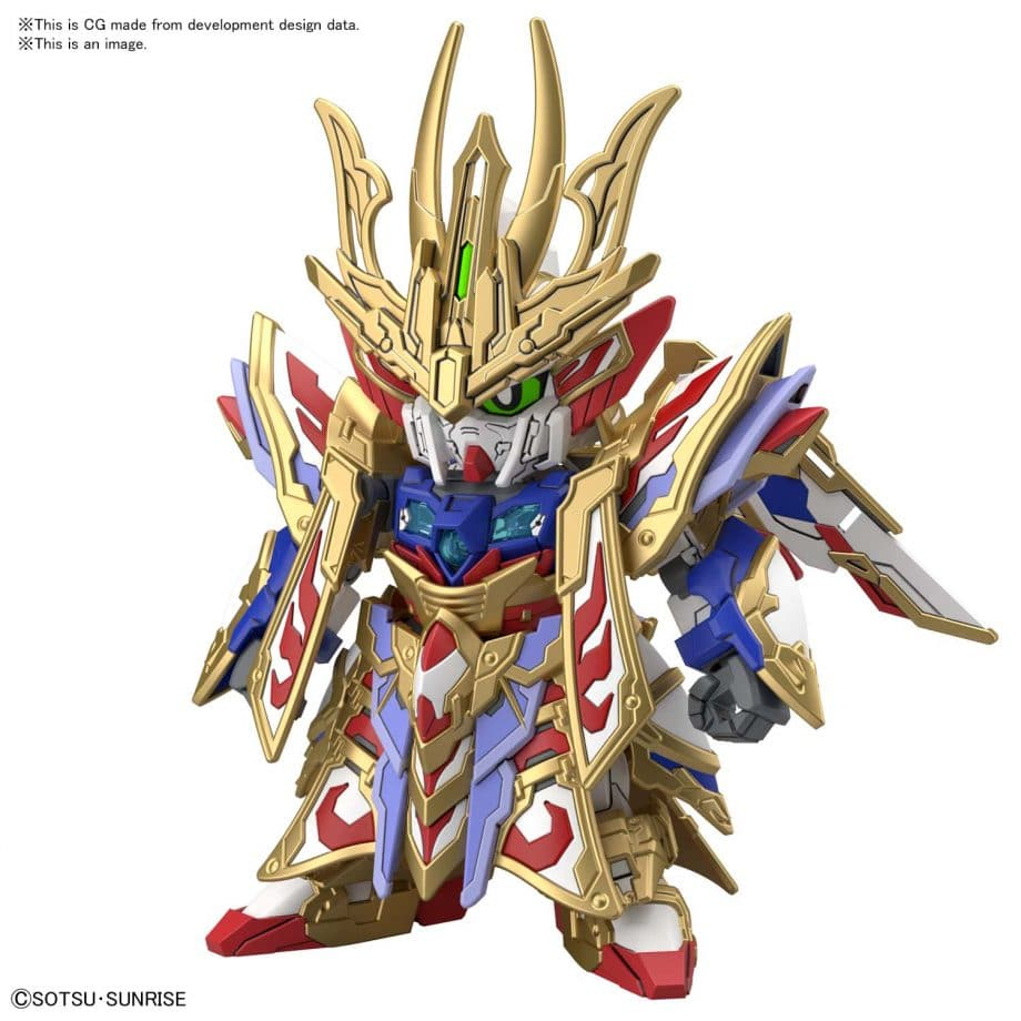 Cao Cao Wing Gundam Isei Style Pose 2