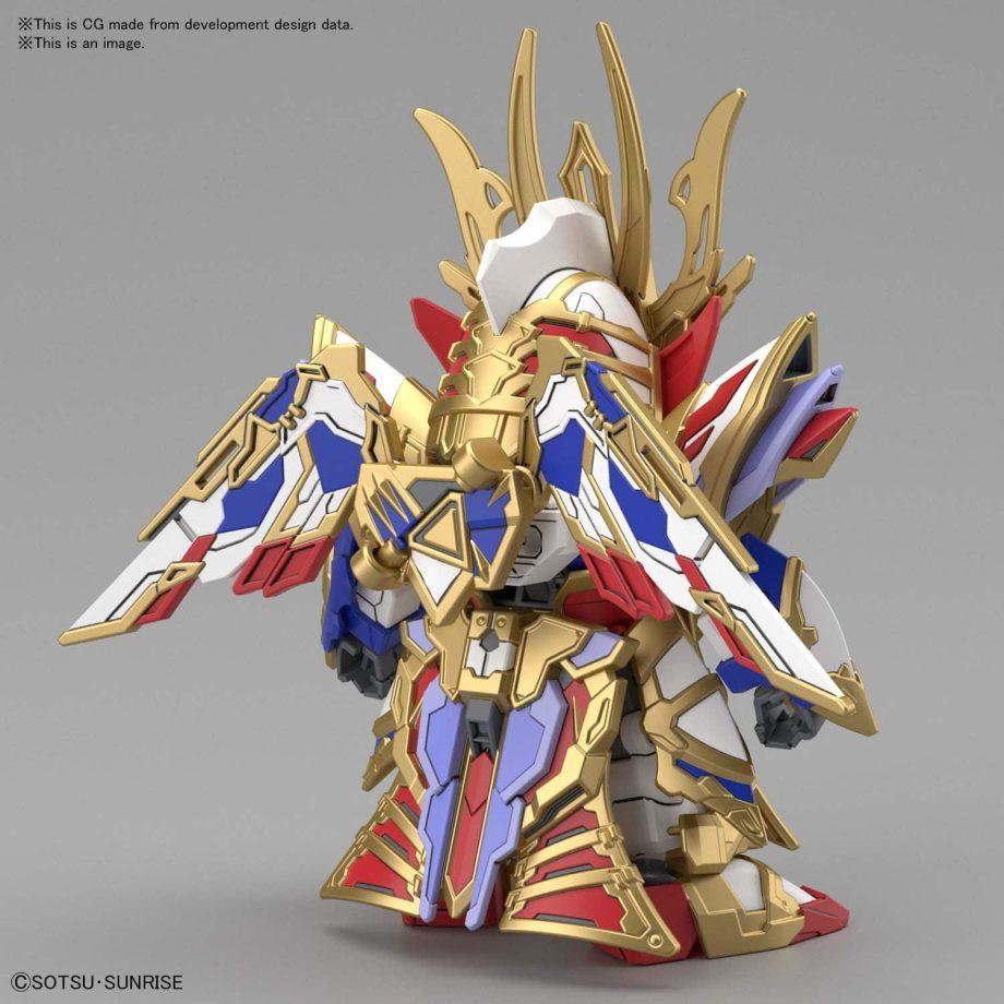 Cao Cao Wing Gundam Isei Style Pose 3